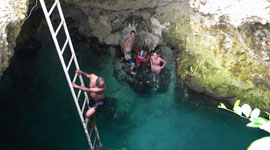 Blue Hole Mineral Spring Negril From Montego Bay Negril